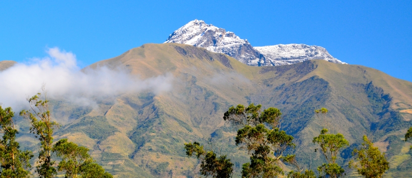 Morning Snow on Cotacachi Peak